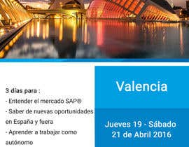 #12 for Design a Flyer for a company event in Valencia by DesignerRita