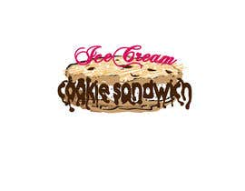 #11 for Cookie iceacream sandwich logo designed. In pop art/ comic theme by draganajovic