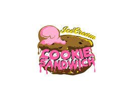 #26 for Cookie iceacream sandwich logo designed. In pop art/ comic theme by draganajovic