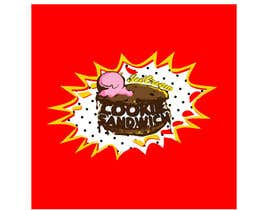 #31 for Cookie iceacream sandwich logo designed. In pop art/ comic theme by draganajovic