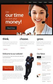 #2 cho Design a Website Mockup for The VOICE Centre - Australian Call Centre bởi zicmedia