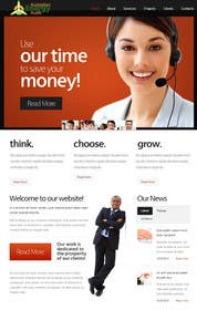 #7 cho Design a Website Mockup for The VOICE Centre - Australian Call Centre bởi zicmedia