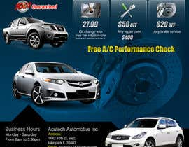 #17 cho Design a Flyer for automotive repair shop 4x6 bởi Pixaart