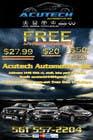 Contest Entry #12 for Design a Flyer for automotive repair shop 4x6
