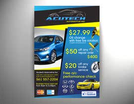 Spector01 tarafından Design a Flyer for automotive repair shop 4x6 için no 4