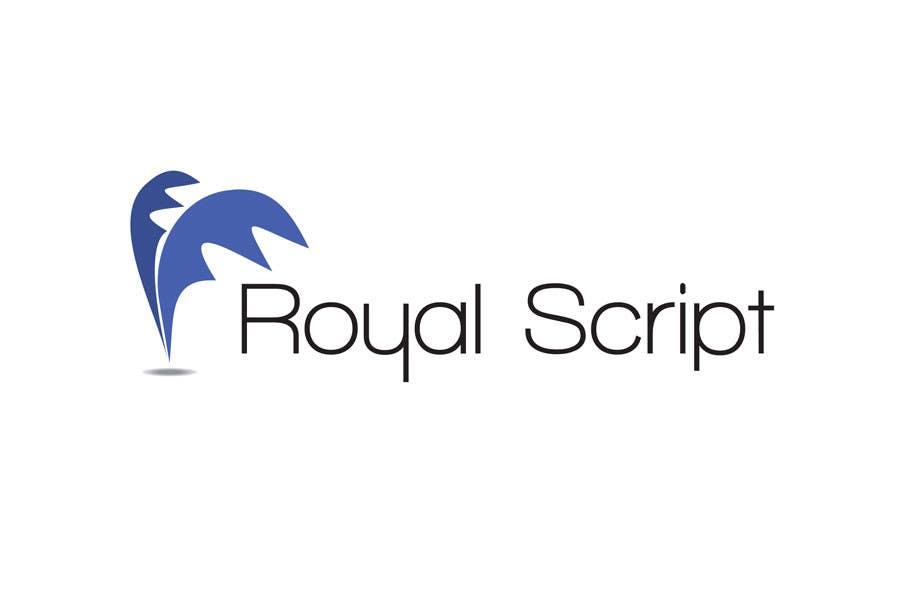 Inscrição nº                                         163                                      do Concurso para                                         Logo Design for Stationery Packaging - Royal Script