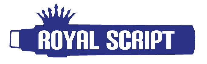 Inscrição nº                                         179                                      do Concurso para                                         Logo Design for Stationery Packaging - Royal Script