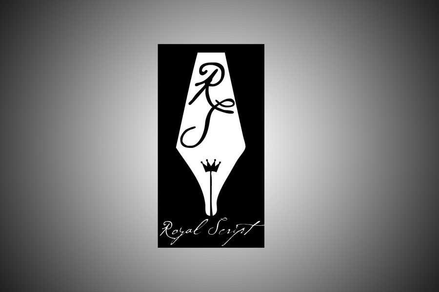 Inscrição nº                                         174                                      do Concurso para                                         Logo Design for Stationery Packaging - Royal Script