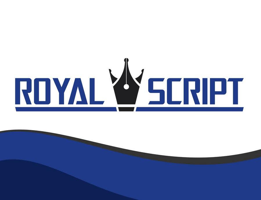 Inscrição nº                                         134                                      do Concurso para                                         Logo Design for Stationery Packaging - Royal Script
