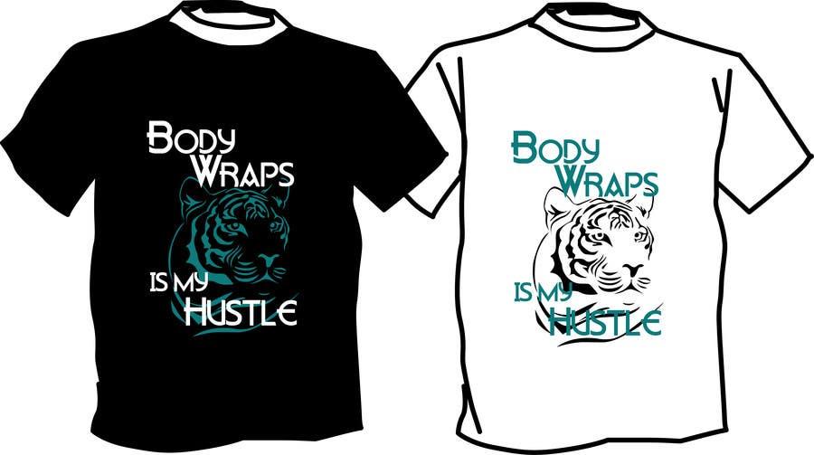 "Proposition n°16 du concours Design a T-Shirt for ""BODY WRAP COMPANY"""