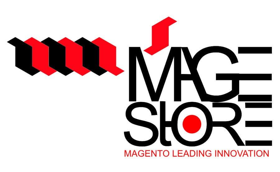 Penyertaan Peraduan #234 untuk Logo Design for www.magestore.com