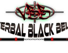 #19 for Design a Logo for Verbal Black Belt af Ghomez