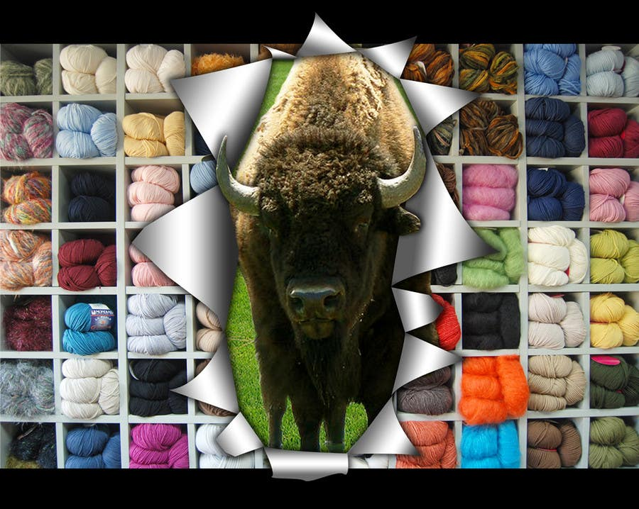 Contest Entry #                                        23                                      for                                         Banner Ad Design for The Buffalo Wool Co.
