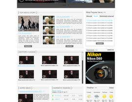#36 untuk Website Design for TodayChina.TV oleh herick05