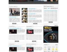 #21 untuk Website Design for TodayChina.TV oleh herick05