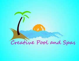harry21design tarafından Design a Modern Logo for Creative Pools and Spas için no 23