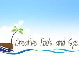 manish997 tarafından Design a Modern Logo for Creative Pools and Spas için no 74