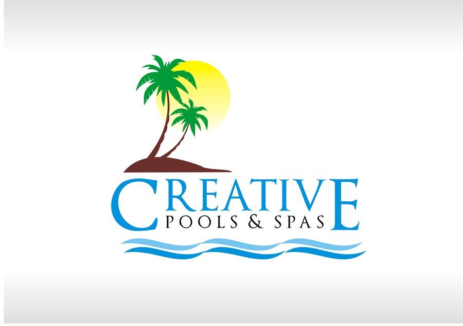 Contest Entry #116 for Design a Modern Logo for Creative Pools and Spas