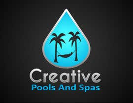 nº 24 pour Design a Modern Logo for Creative Pools and Spas par riadbdkst