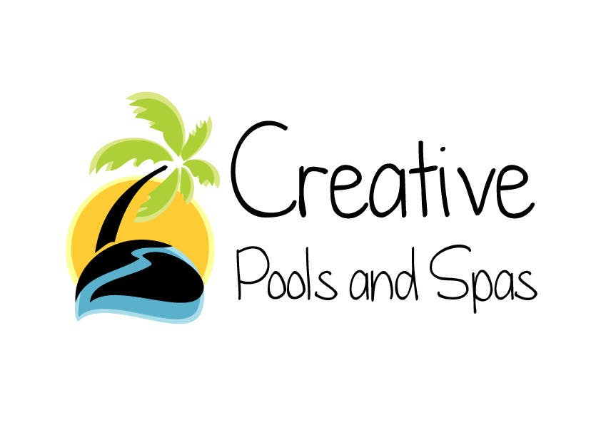 #35 for Design a Modern Logo for Creative Pools and Spas by FrancescaPorro