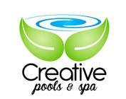 Graphic Design Contest Entry #2 for Design a Modern Logo for Creative Pools and Spas