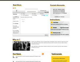 #14 for Design a Website Mockup for welloffbeats.com af Alexr77
