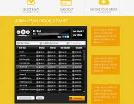 #20 for Design a Website Mockup for welloffbeats.com - repost af iamryanowens