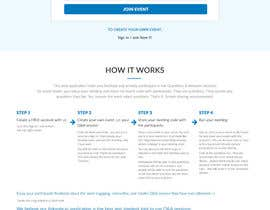 #12 for Design a web applicatoin (PSD) for interactive Q&A sessions -  askvote.io by webmastersud