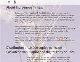 #2 for Design a 2-page Media Kit for an Aboriginal Canadian Publication by ahubbar1