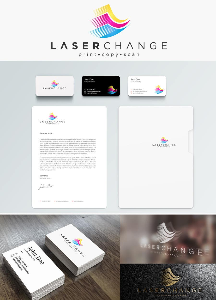 #189 for Design a Logo for Laser Change by xcerlow