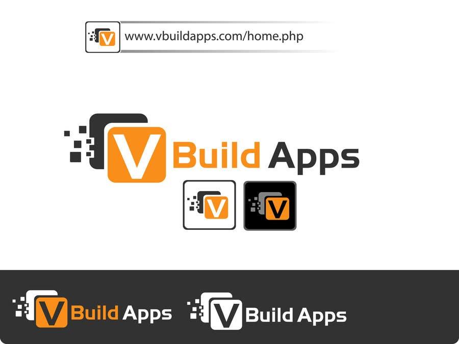 Kilpailutyö #79 kilpailussa Design a Logo for vbuildapps - vbuildapps.com