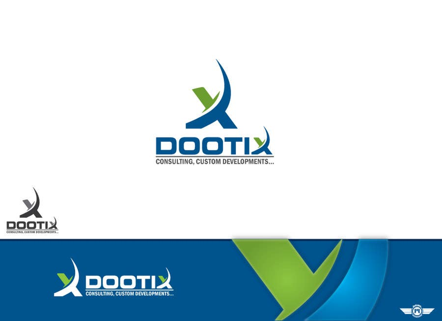 Contest Entry #337 for Logo Design for Dootix, a Swiss IT company