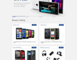 #31 for Design a Website Mockup for Nokia Online Shop - repost af atularora