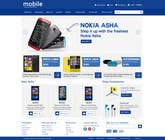 Contest Entry #78 for Design a Website Mockup for Nokia Online Shop - repost