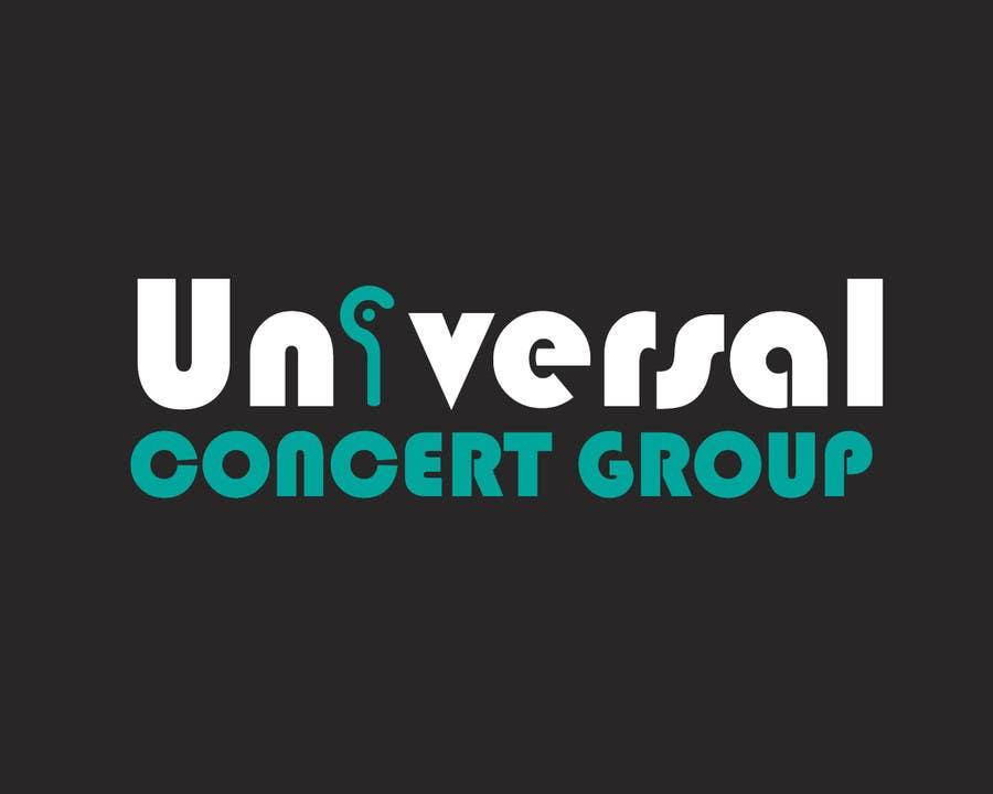 Bài tham dự cuộc thi #15 cho Universal Concert Group