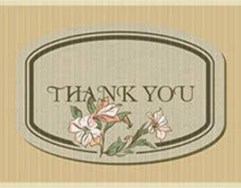 #57 untuk Design some Stationery for a Corporate Thank you card oleh graphics15