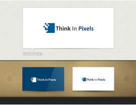 "skrDesign21 tarafından Design a Logo for ""Think In Pixels"" için no 204"