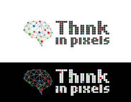 "#185 for Design a Logo for ""Think In Pixels"" by Elars"