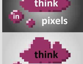 "#206 for Design a Logo for ""Think In Pixels"" by javorojas"
