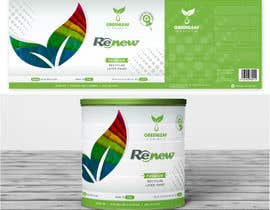 #66 untuk Design for paint can label oleh suneshthakkar