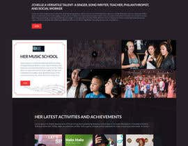 #12 for ONLY FIRST WEB PAGE LAYOUT combining 3 seperate web sites for one person by creative123411