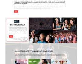 #13 for ONLY FIRST WEB PAGE LAYOUT combining 3 seperate web sites for one person by creative123411