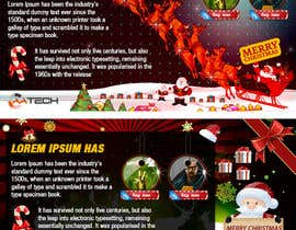 #22 untuk Design a Christmas Themed Banner for a Game Hosting Company oleh imran030
