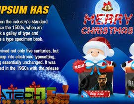 nº 23 pour Design a Christmas Themed Banner for a Game Hosting Company par imran030