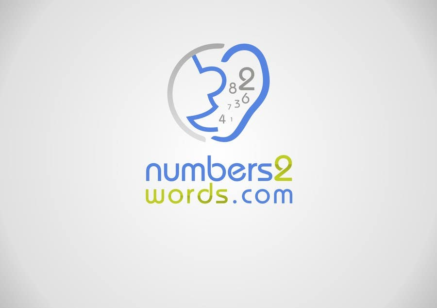 #160 for Design a logo for www.numbers2words.com by paramiginjr63