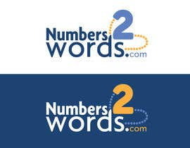 #86 untuk Design a logo for www.numbers2words.com oleh Cozmonator