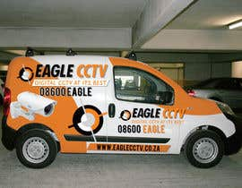 #19 cho EagleCCTV Vehicle Branding Design bởi dannnnny85