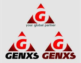 #47 untuk Develop a Corporate Identity for Genxs oleh sdugin