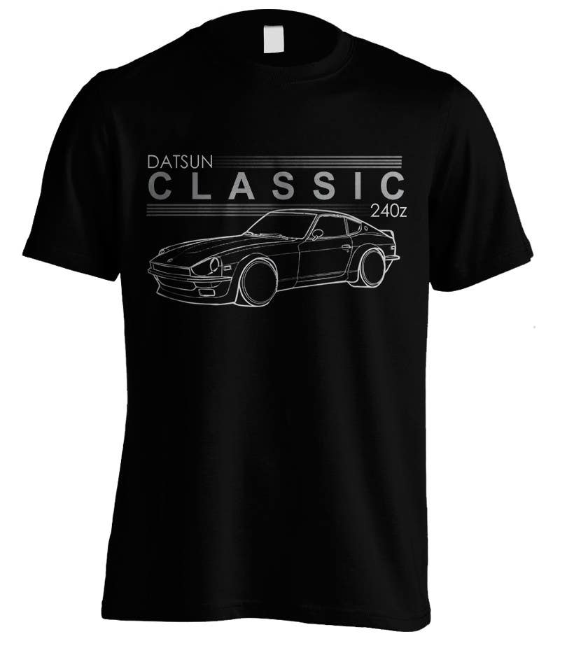 Contest Entry #                                        8                                      for                                         Datsun S30 T-Shirt
