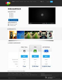 #10 for Software Pricing and Feature Presentation Page with Graphics by codeunderground
